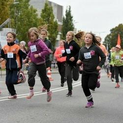 Paide-Türi rahvajooksu lastejooksud - Kädi-Liis Bäärt (42), Annabel Nikker (326), Vanessa Melina Orumaa (359), Moonika Schasmin (502)
