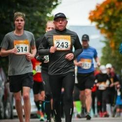 6. Tartu Linnamaraton - Mati Filatenko (243), Aare Riives (514)