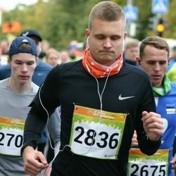 6. Tartu Linnamaraton - Rasmus Pedak (2836)