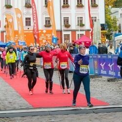 6. Tartu Linnamaraton - Brit Laak (2508), Siret Kupper (3539), Jana Olesk (3601), Liis Virkunen (3652)