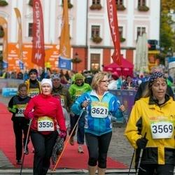 6. Tartu Linnamaraton - Terje Heido-Rosenberg (3550), Annely Põldaru (3569), Leili Soovere (3621)