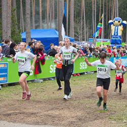 SEB 31. Tartu Jooksumaraton - Vello Ridala (4125), Brita Liivamaa (4236), Jürgen Kukk (5013)