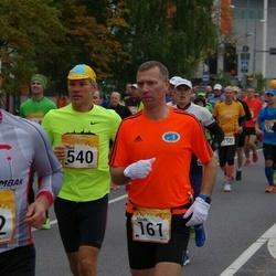 6. Tartu Linnamaraton - Marek Varblane (161), Raul Andresson (540)