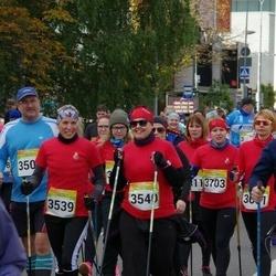 6. Tartu Linnamaraton - Siret Kupper (3539), Aire Liivapuu (3540), Laura Saaremets (3703)