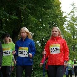 6. Tartu Linnamaraton - Anitra Kalda (3633), Andra Kalda (3636)