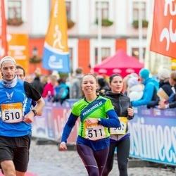 6. Tartu Linnamaraton - Artur Rauk (510), Maigi Vaikla (511)