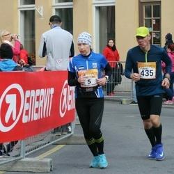 6. Tartu Linnamaraton - Annika Vaher (5), Vladimir Rõzov (435)