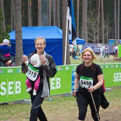 SEB 31. Tartu Jooksumaraton - Tiit Altmäe (5515), Annely Kubri (5650)
