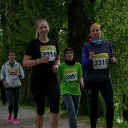 6. Tartu Linnamaraton - Natalja Pennula (2851), Anneli Vellerind (3315), Aveli Vellerind (3316)