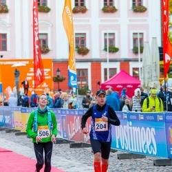 6. Tartu Linnamaraton - Kaarel Tõruvere (204), Alina Massalov (506)