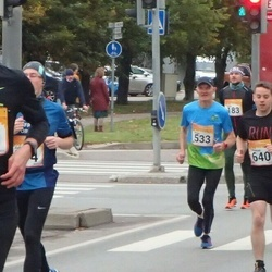 6. Tartu Linnamaraton - Ingmar Pärtelpoeg (120), Hugo Paulus (533), Thomas Robinson (640), Aaron Coulter (642)