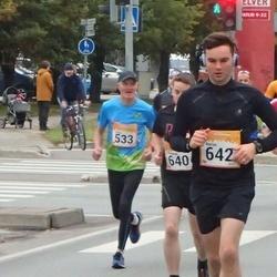 6. Tartu Linnamaraton - Hugo Paulus (533), Thomas Robinson (640), Rikki Gibson (641), Aaron Coulter (642)