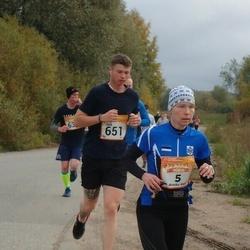 6. Tartu Linnamaraton - Annika Vaher (5), Jack Millard (651)