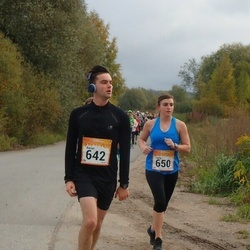 6. Tartu Linnamaraton - Aaron Coulter (642), Carly Gardner (650)