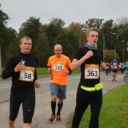 6. Tartu Linnamaraton - Argo Miller (58), Elmo Raudpuu (125), Priidik Meelo Västrik (363)