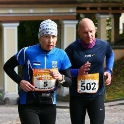 6. Tartu Linnamaraton - Annika Vaher (5), Avo Kirsipuu (502)