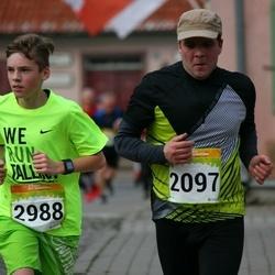 6. Tartu Linnamaraton - Aare Einsoo (2097), Markus Rolitš (2988)