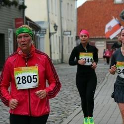 6. Tartu Linnamaraton - Reet Paatsi (2805), Evgenia Trofimova (3484)