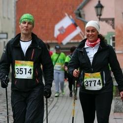 6. Tartu Linnamaraton - Ardi Salus (3514), Marit Salus (3774)