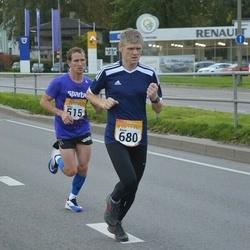 6. Tartu Linnamaraton - Erkki Hummal (515), Alvar Viikmäe (680)