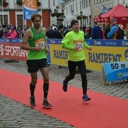 6. Tartu Linnamaraton - Stanislav Gaistruk (61), Heigo Tern (615)