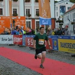 6. Tartu Linnamaraton - Alex Corder (654)