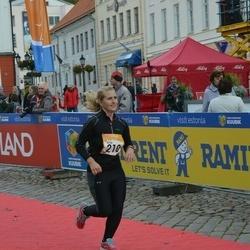 6. Tartu Linnamaraton - Kristi Parro (210)
