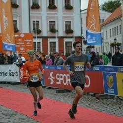 6. Tartu Linnamaraton - Sander Kelk (2334), Minna Kuslap (3487)