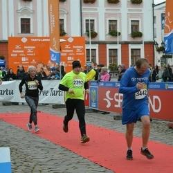 6. Tartu Linnamaraton - Urmet Kook (2392), Andra Mõttus (2708), Andres Noole (3442)