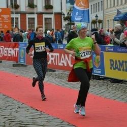 6. Tartu Linnamaraton - Liina Adov (2013), Age Kala (2260)