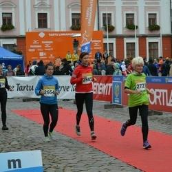 6. Tartu Linnamaraton - Sirli Loorits (2605), Gerda Meedla (2664), Eve Mälgand (2723)