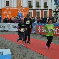 6. Tartu Linnamaraton - Jelena Kopolova (2401), Teele Ring (2978), Tarmo Menets (3597)