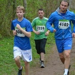 SEB 31. Tartu Jooksumaraton - Meelis Ainsoo (2239), Andre Lauk (4084), Kristjan Veskioja (4102)