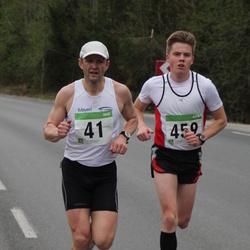 SEB 31. Tartu Jooksumaraton - Alar Savastver (41), Taavi Lehemaa (459)