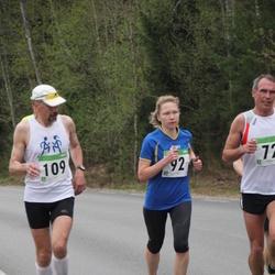 SEB 31. Tartu Jooksumaraton - Annika Vaher (92), Margo Siimumäe (109)