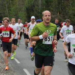 SEB 31. Tartu Jooksumaraton - Mihkel Unt (696), Ander Raud (857), Mirja Virve (1796)
