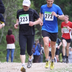 SEB 31. Tartu Jooksumaraton - Raivo Pellja (223), Aare Viitkin (272)