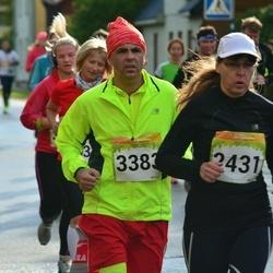 6. Tartu Linnamaraton - Anne Kroman (2431), Aare Allaje (3383)