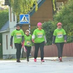 6. Tartu Linnamaraton - Kelina Lillemets (2586), Jane Ojala (2777), Siiri Pungas (2893), Agra Univer (3267)