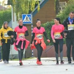 6. Tartu Linnamaraton - Gerlika Holtsmeier (3453), Kelly Tambur (3454), Kaire Prüüs (3638), Ülo Karpov (3715)