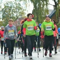 6. Tartu Linnamaraton - Angela Aidla (2017), Gertrud Solba (3099), Anneli Lipand (3616), Kaire Tali (3761)