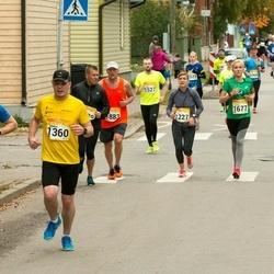 6. Tartu Linnamaraton - Eike Laas (1227), Jarmo Oberst (1356), Mihkel Ojamets (1360), Santa Birgele (1677), Aare Piire (1883)
