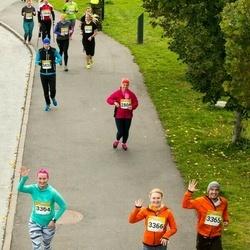 6. Tartu Linnamaraton - Kristi Sell (3364), Kevin Luide (3365), Kadi Siilik (3366)