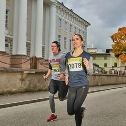 6. Tartu Linnamaraton - Birgit Demidova (2078), Carl Pihor (2863)