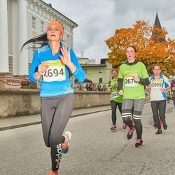 6. Tartu Linnamaraton - Katry Mets (2674), Kristi Moora (2694)