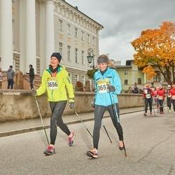 6. Tartu Linnamaraton - Ingrid Lamp (3656), Aire Haava (3657)