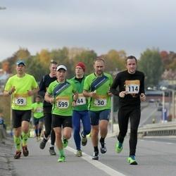 6. Tartu Linnamaraton - Björn Puna (50), Ahti Nuga (59), Ain Uustare (114), Karre Lauring (599)