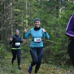 Eesti Maastiku Maraton - Krista Koval (303), Minni Andla (304)