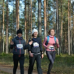 Eesti Maastiku Maraton - Liis Joost (353), Evelin Kliimant (354)