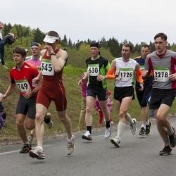 SEB 31. Tartu Jooksumaraton - Anatoly Smirnov (345), Andrus Pedai (630), Andre Viira (749), Marko Valter (1726), Silver Tamm (2278)